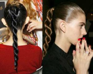 Быстрые прически на длинные волосы