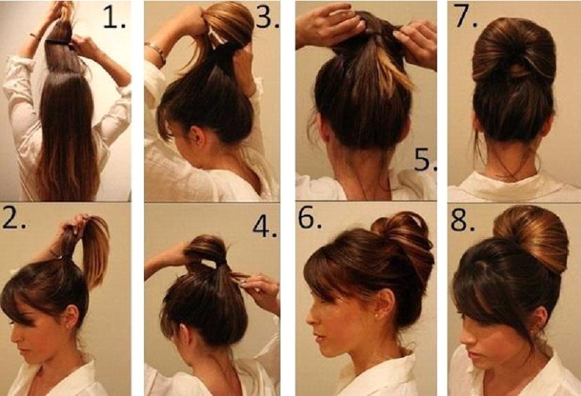 Деловые прически на средние волосы В СТИЛЕ ОДРИ ХЕПБЕРН