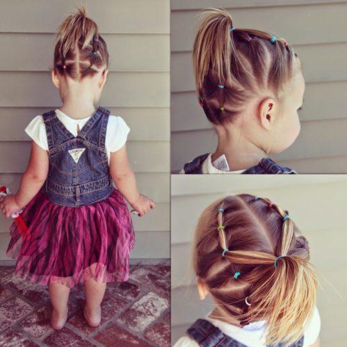 прически на короткие волосы для девочек
