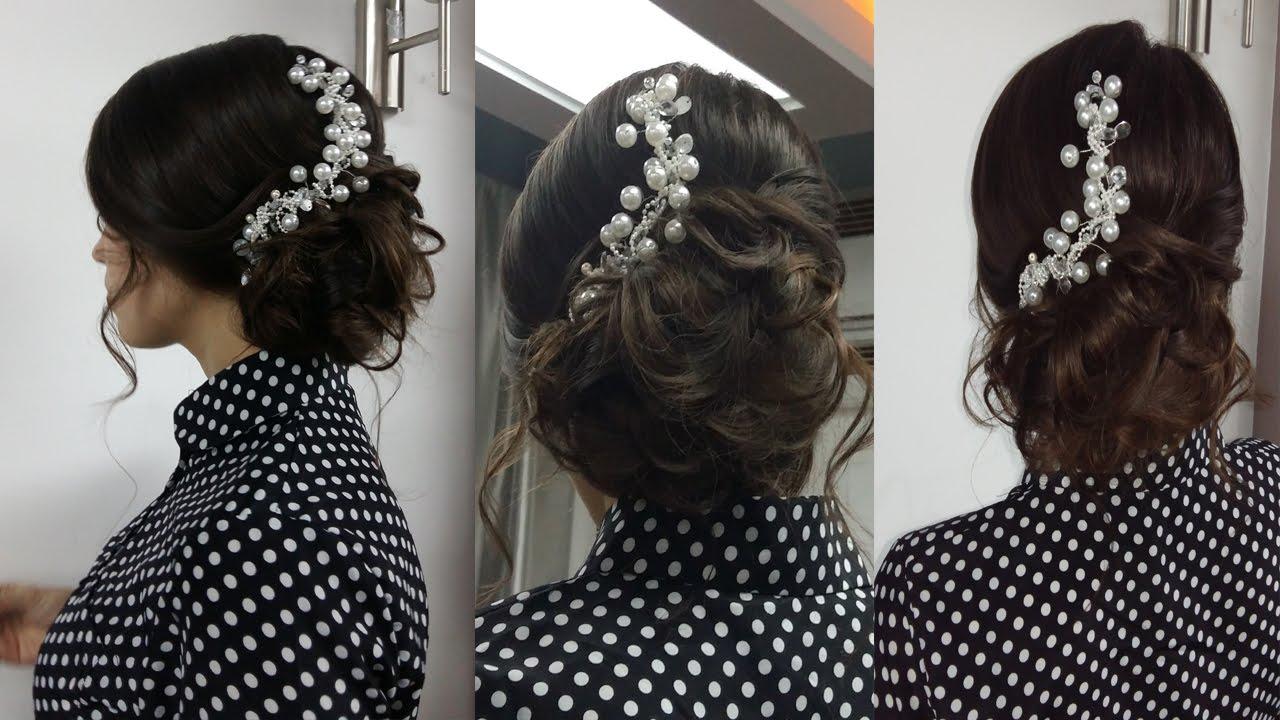Причёски на выпускной на длинные волосы