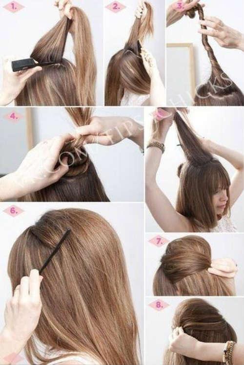Прически на средние волосы фото 2