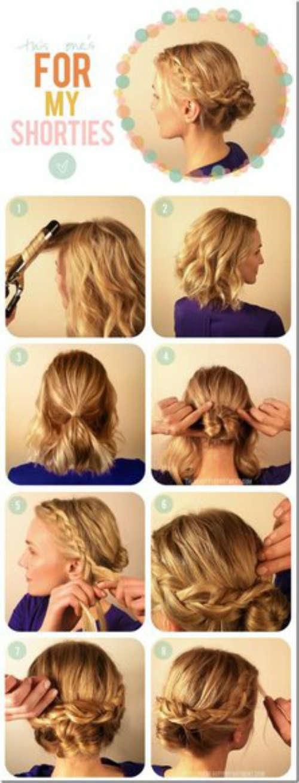 Прически на средние волосы фото 3