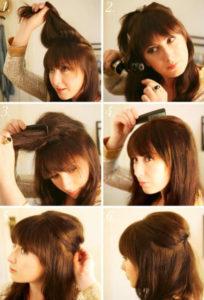 Прически на средние волосы фото 1