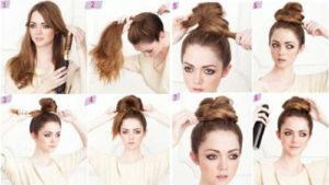 Прически на средние волосы фото 4