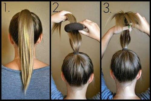 Прически на средние волосы 27
