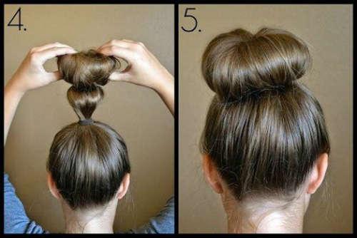 Прически на средние волосы 28