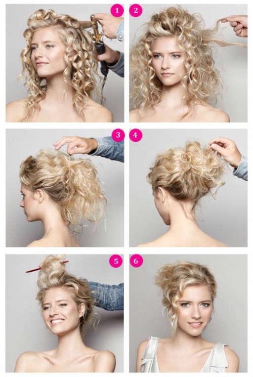 Прически на средние волосы фото 5