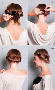 прически на короткие волосы 1
