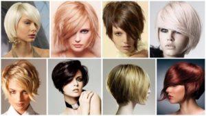 Прически на короткие волосы 9
