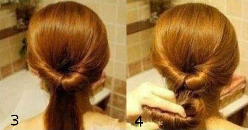 Прически на средние волосы 25