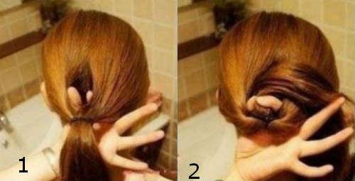 Прически на средние волосы 23