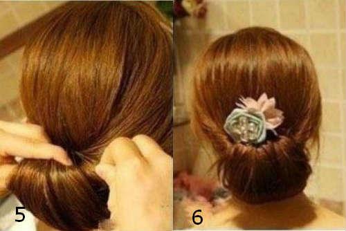 Прически на средние волосы 24