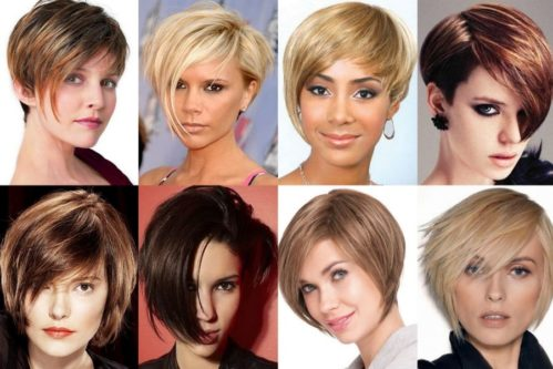 Прически на короткие волосы 7