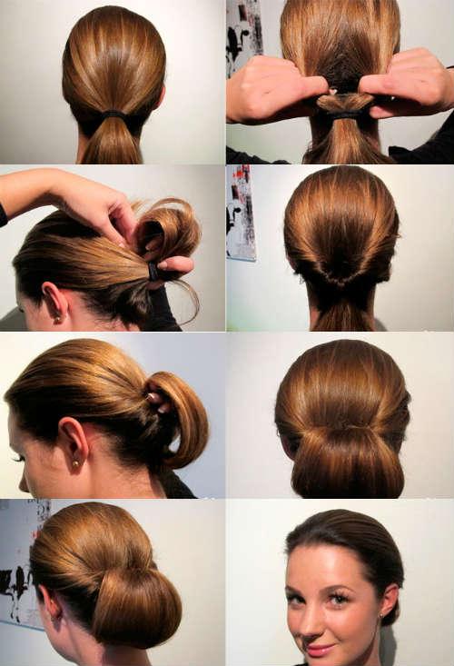 Прически на средние волосы фото 14