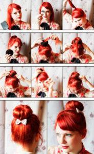 Прически на средние волосы фото 8