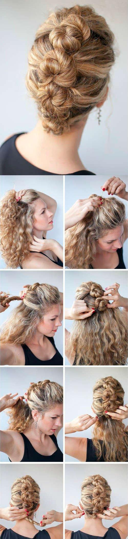 Прически на средние волосы фото 9