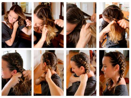 Прически на средние волосы фото 11