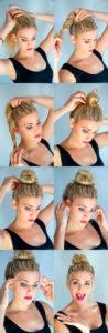 Прически на средние волосы фото 13