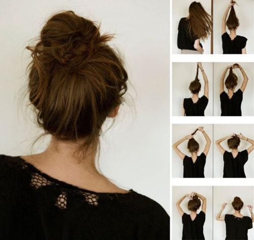 Прически на средние волосы 26