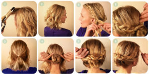 Прически на короткие волосы 5