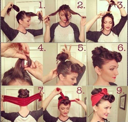 Прически на средние волосы фото уроки 3