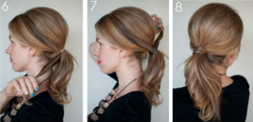 Прически на средние волосы фото уроки 7