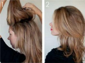 Прически на средние волосы фото уроки 5