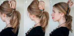 Прически на средние волосы фото уроки 6