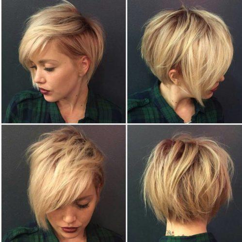 прически на короткие волосы 17
