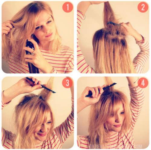 Прически на средние волосы фото 6