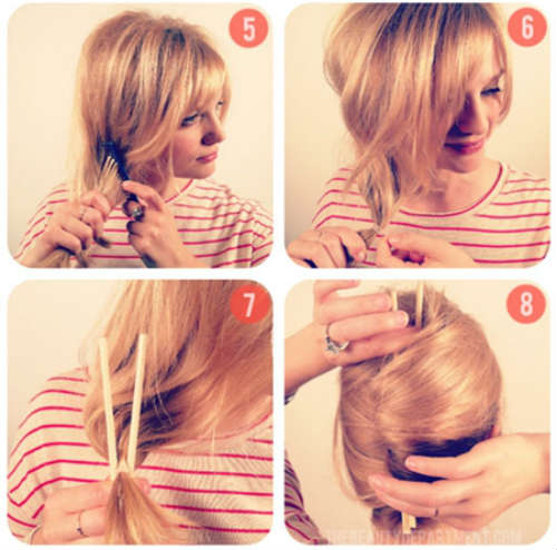 Прически на средние волосы фото 7